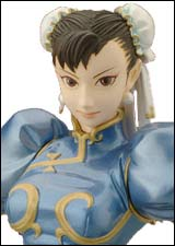 Capcom Girls Collection: Street Fighter Chun-Li Blue Figure