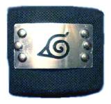 Naruto Metal Wristband