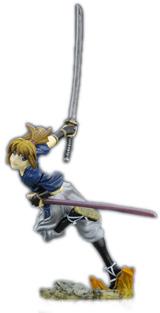 Rurouni Kenshin Series 3 Kenji Himura Mini-Figure