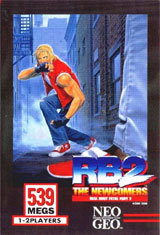 Real Bout Fatal Fury 2: The Newcomers Neo Geo AES
