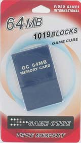 GameCube 64 MB Memory Card