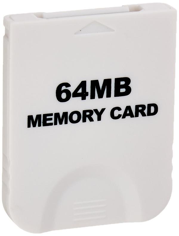 GameCube 64 MB (16X) Memory Card