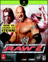 WWE Raw 2 Official Strategy Guide