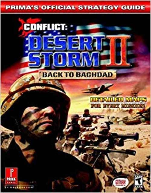 Conflict Desert Storm II: Back to Baghdad Official Strategy Guide Book