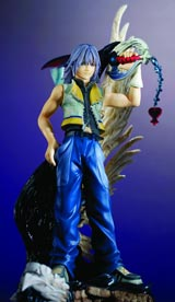 Kingdom Hearts Static Arts Riku Statue