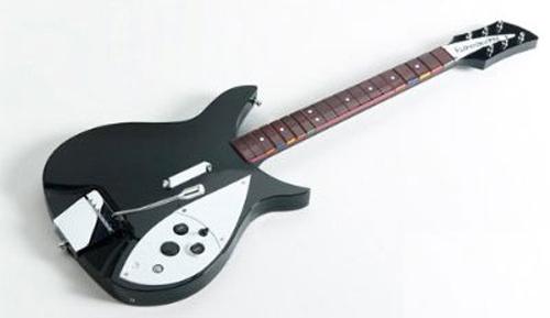 Rock Band Beatles Wireless Rickenbacker 325 Guitar Controller
