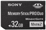 PSP 32GB Memory Stick Pro Duo by Sony