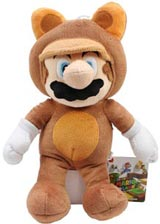 Nintendo Tanooki Suit Mario 11 Inch Plush