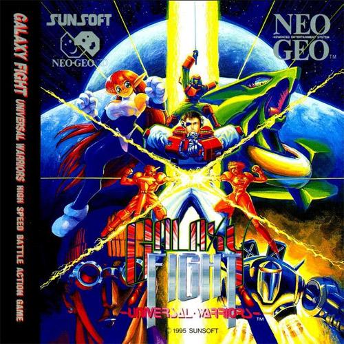 Galaxy Fight Neo Geo CD