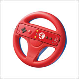 Wii U Wheel (Red/Blue) by Nintendo