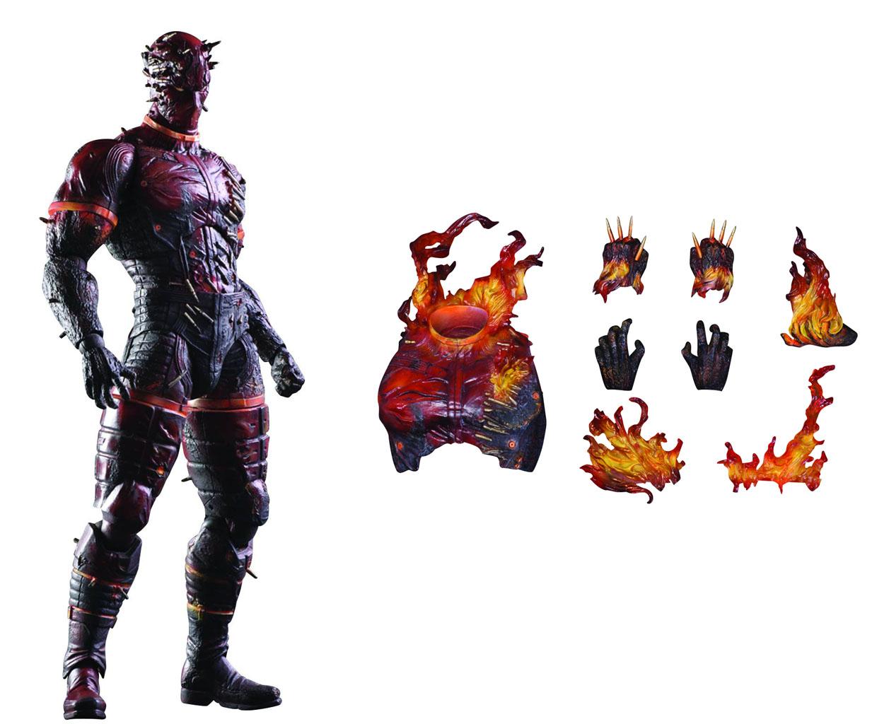 Metal Geaer Solid Phantom Pain: Kai Man on Fire Action Figure