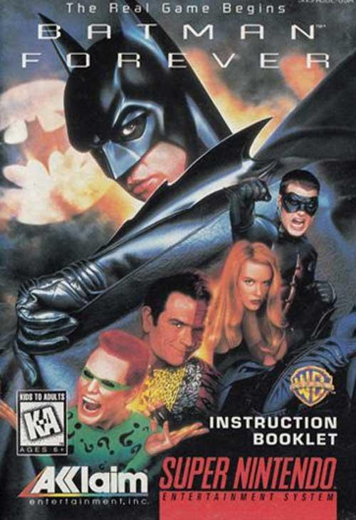 Batman Forever (Instruction Manual)