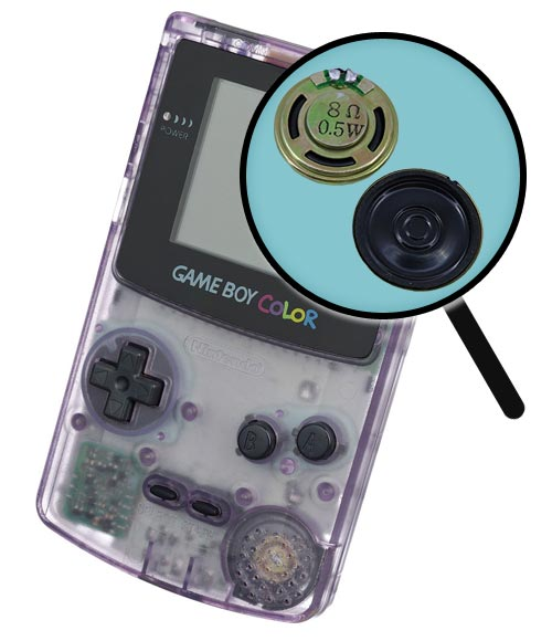Game Boy Color Repairs: Speaker Replacement Service