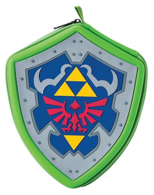 3DS/DS Zelda Hylian Shield Carrying Case