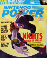 Nintendo Power Volume 216 NiGHTS: Journey of Dreams