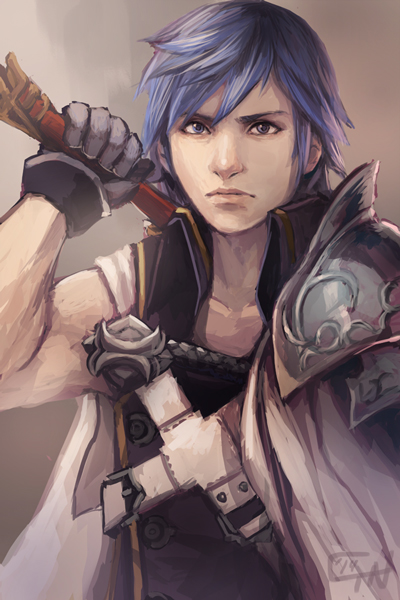 Fire Emblem: Awakening - Chrom Digital Print