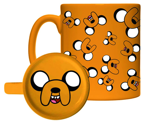 Adventure Time Jake Molded Bottom Mug