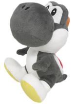 Super Mario Yoshi 6 Inch Black Plush