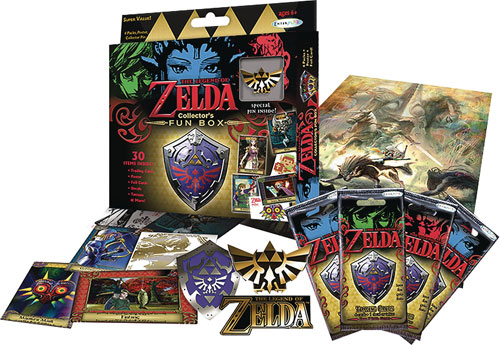 Legend of Zelda Trading Cards Collectors Edition Fun Box
