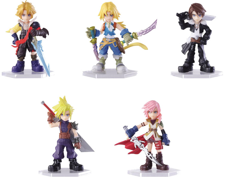 Dissidia Final Fantasy: Trading Arts Mini Fig