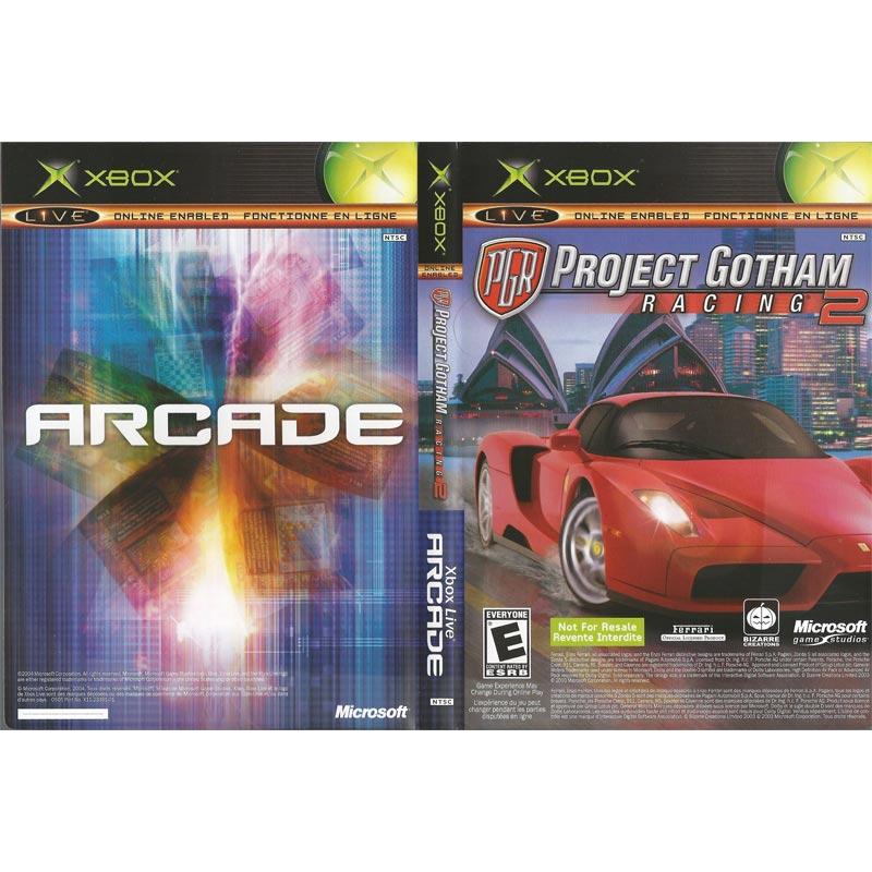 Project Gotham Racing 2 & Xbox Arcade Combo