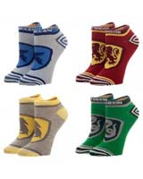 Harry Potter Crests Juniors Ankle Socks 4 Pack