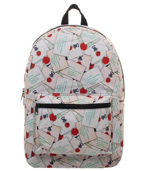 Harry Potter Hogwarts Letter All Over Print Sublimated Backpack