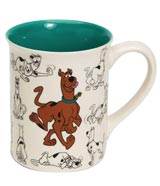 Scooby-Doo Model Sheet 16oz Mug