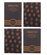 Fallout 4-Set Pocket Journals