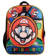 Super Mario Backpack & Detachable Lunch Box