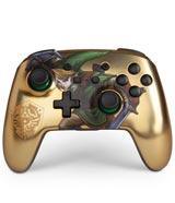 Nintendo Switch Wireless Controller Legend of Zelda Link Gold