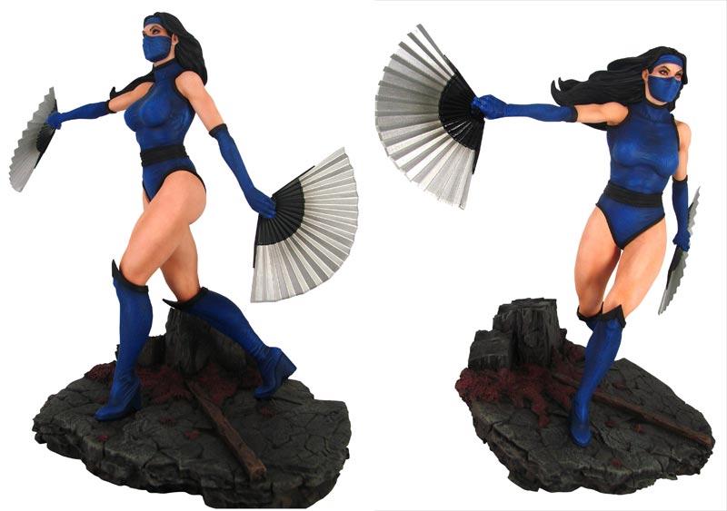 Mortal Kombat 11 Kitana PVC Statue extra img