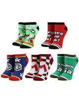 Super Mario Ankle Socks 5 Pack