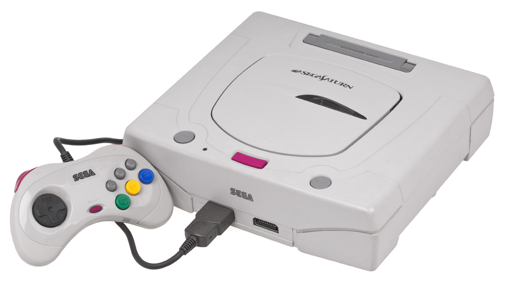 Sega Saturn White System Universal