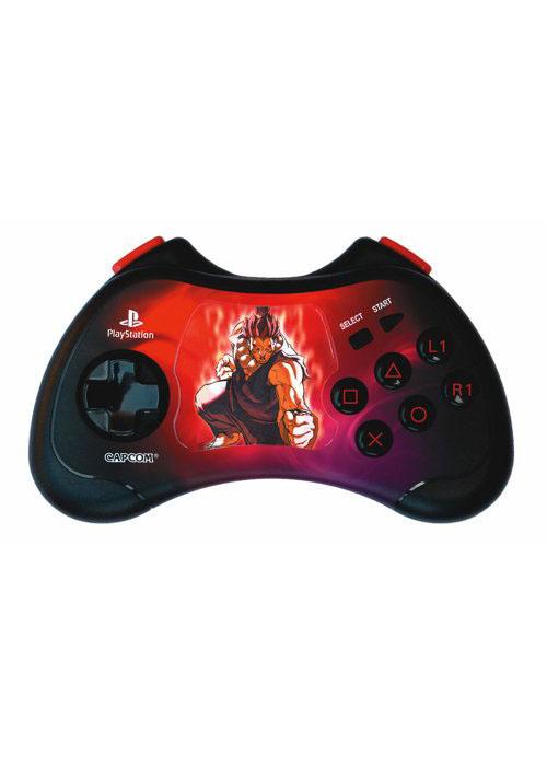 PS2 Street Fighter Controller Akuma Edition