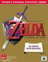 Legend of Zelda Ocarina of Time Prima's Official Strategy Guide