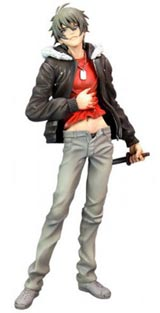 Togainu No Chi (True Blood) Akira PVC Figure with Mini CD