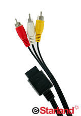 PS 3, PS 2, PS Audio Video (AV) Cable