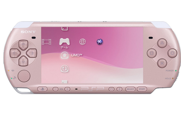 Sony PSP Core System Pink