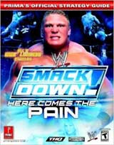 WWE Smackdown: Here Comes the Pain Official Strategy Guide Book