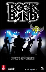 Rock Band Official Game Guide