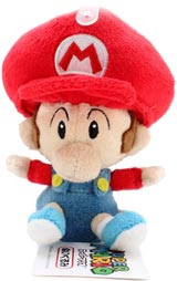 Nintendo Baby Mario 5 Inch Plush