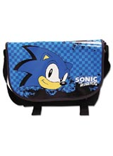Sonic The Hedgehog Sonic Head Messenger Bag