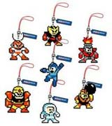 Mega Man Phone Charm - Pixel Strap Assortment Vol 2