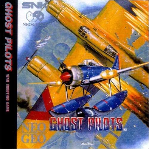 Ghost Pilots Neo Geo CD