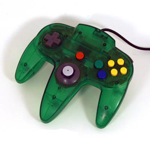 N64 Controller by Nintendo (Jungle Green)