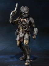 Aliens VS Predator Predator Wolf S.H.MonsterArts AF H.A. Version