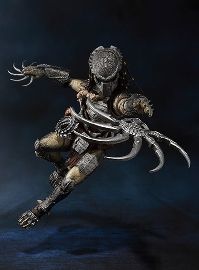 Aliens VS Predator Predator Wolf S.H.Monster Arts AF H.A. Version