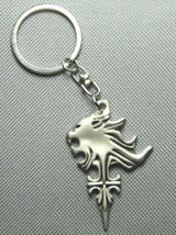 Final Fantasy Squall Lionheart Symbol Griever Keychain