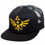 Zelda: Skyward Sword Triforce Black Trucker Cap